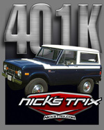 401K  Early Bronco Restoration by Nick's TriX