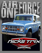 Air Force One Early Bronco Restoration by Nick's TriX