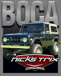Boca Early Bronco Restoration by Nick's TriX