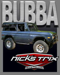 Bubba Early Bronco Restoration by Nick's TriX