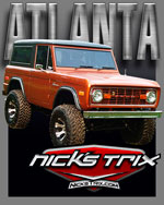 Atlanta Early Bronco Restoration by Nick's TriX