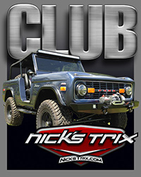 CLUB Bronco by Nick's Trix