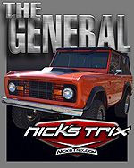 THE GENERAL Early Bronco Restoration by Nick's TriX