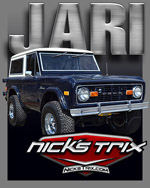 Jari - Early Bronco Restoration by Nick's TriX