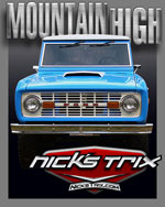 Mountain High  Early Bronco Restoration by Nick's TriX
