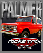 PALMER Bronco Restoration by Nick's TriX