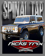 Spinal tap Bronco Restoration by Nick's TriX