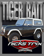 Tiger Bait  Early Bronco Restoration by Nick's TriX
