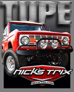 TUPE Early Bronco Restoration by Nick's TriX