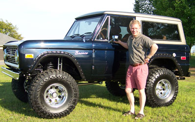 Nick Menudier - The Mind behind Nick's Trix Custom Fabrication & Early Ford 66-77 Bronco Restoration